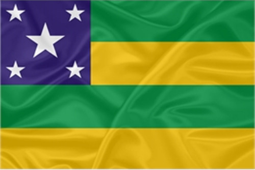bandeira do estado da Sergipe